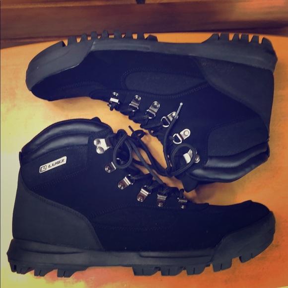 Lugz Other - Lugz ⛰ Men's Black Flexastride Hiking Boots 12